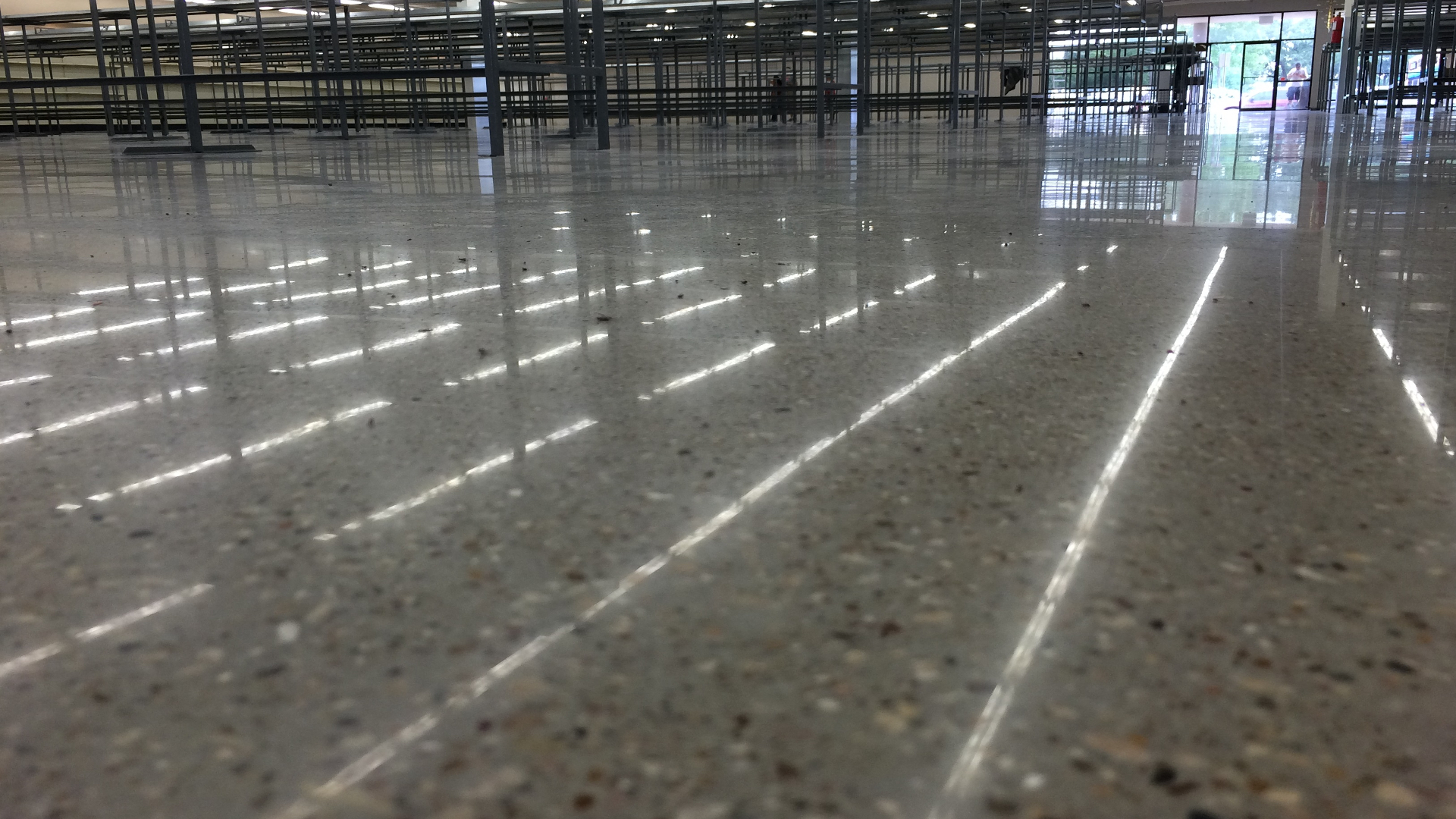 Thrift Giant | Polished Concrete | Dallas Fort Worth Texas